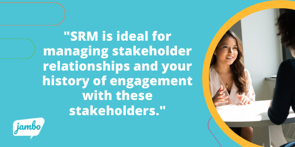 stakeholder relationship management