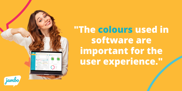 stakeholder relationship management (SRM) colour affects the user experience