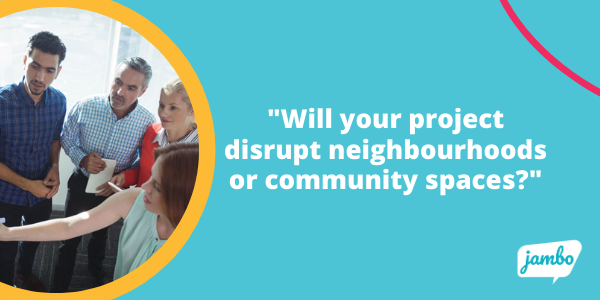how will your stakeholder engagement plan affect stakeholder community spaces?