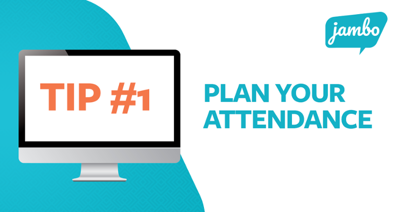 Tips for attending a virtual conference
