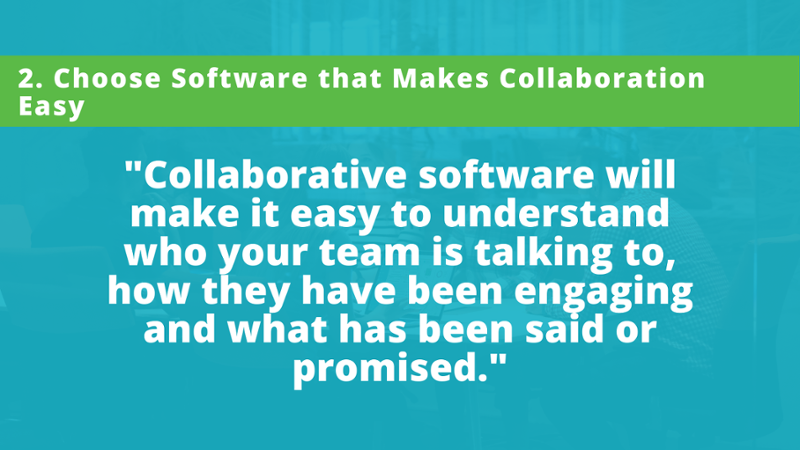 User-friendly stakeholder relationship SRM software made with collaboration in mind will make it easy to understand who your team is talking to, how they have been engaging and what has been said or promised without having to send an email to find out.